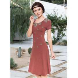 Повседневное Платье Cocoon...