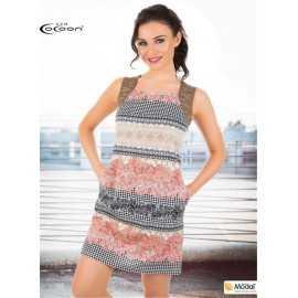 Платье Cocoon цветное в...
