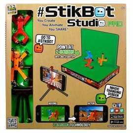 Stikbot (Стикбот)  домашняя анимационная мини студия
