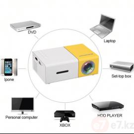 Мини-проектор YG-300. Переносной карманный кинотеатр