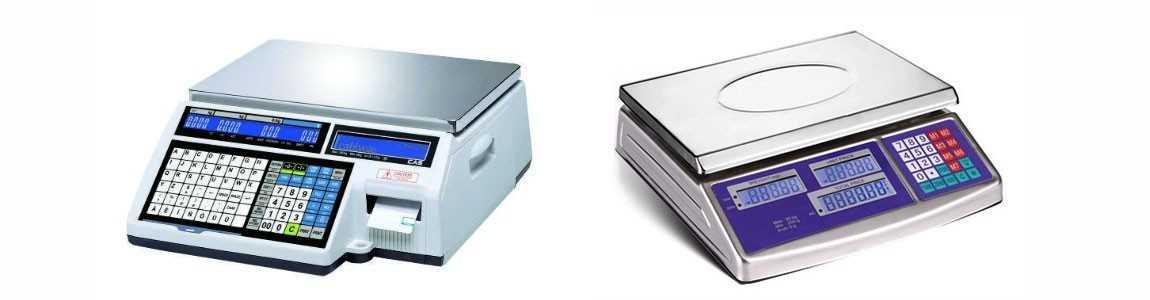 Электронные торговые весы - оборудование для взвешивания в Алматы